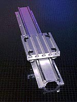 Double Rail System features wide support profile.