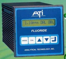 Monitor continuously measures fluoride in potable water.