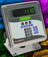 Weight Indicator handles wide variety of applications.