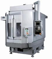 Machining Center offers max spindle speed of 12,000 rpm.