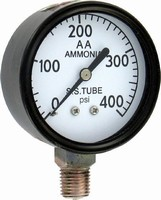 Agricultural Ammonia Gauges are offered in 2.5 in. sizes.