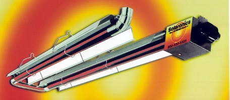 Infrared Heaters operate on natural gas or propane.