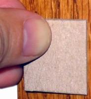 Adhesive Shims protect pre-hung doors during shipping.