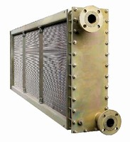Generator Coolers feature removable cover plates.