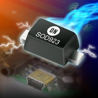 ON Semiconductor Unveils New Micro-Packaged ESD Protection Diodes and Schottky Diodes for Portable and Wireless Applications