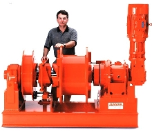 Winches are available in various configurations.