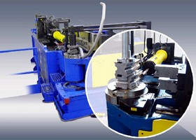 CNC Tube Bender targets small-batch/JIT processes.