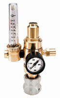 Flowmeter Regulator suits MIG and TIG welding applications.