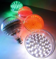 LED Bulb provides direct Type 2 incandescent replacement.