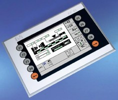 Control Panel suits machine manufacturing applications.