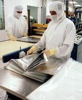 Foil Barrier Laminate suits clean room applications.