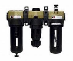 Filters, Regulators, Lubricators feature modular design.