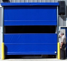 High-Speed Roll-Up Door offers heavy wind resistance.