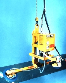 Vacuum Lifter-Tilters are integrated with air balancer systems.
