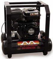 Single-Stage Air Compressors have compact, portable design.