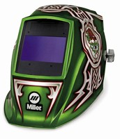 Welding Helmet includes Auto-On feature.