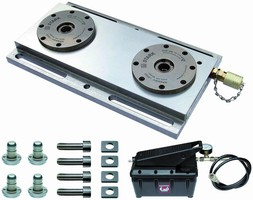 Mounting Kits reduce setups times for CNC machining.