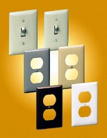 Wall Plates feature durable Nylon design.