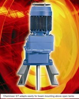 Chemineer GT Turbine Agitator Offers Mounting and Sealing Options