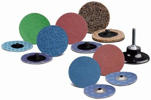 Finishing Discs have fast, secure fastening design.