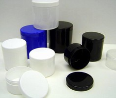 Packaging Jars are injection molded.