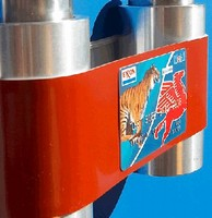 Belt conveys PVC cards in card handling devices.