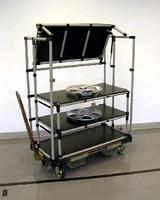 Material Handling Cart promotes lean manufacturing.