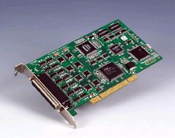 PCI Communication Card features onboard DSP processor.