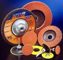 Abrasive Discs work with hard-to-grind materials.