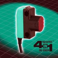 Popular Photoelectric Sensors Now Feature 4-in-1(TM) Outputs