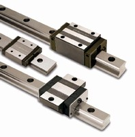 Linear Guideways incorporate recirculation system.