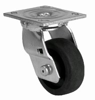 Thermoplastic Wheel bears load capacities of 600-1,400 lb.