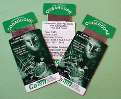 Cobar Solder Products Offers CobarCore Lead-Free Solder