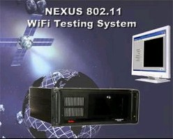 WiFi Testing Systems provide EVM measurement of -45 dB.