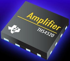 Operational Amplifier exhibits low noise and distortion.