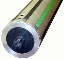 Strip Shaft allows smooth winding of web materials.