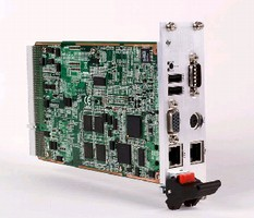 CompactPCI Cards feature direct-soldered CPU and memory.