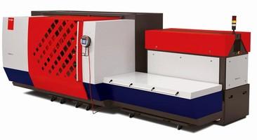 Laser Cutting Machine has footprint of 20 x 20 ft.