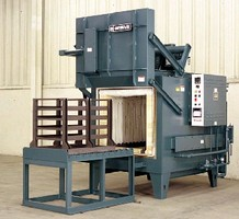 Inert Atmosphere Furnace provides temperatures to 2,000°F.