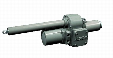 Linear Electric Actuator features no-burnout motor.