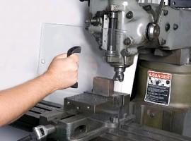 Chip/Coolant Shields are OSHA compliant.