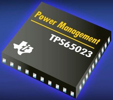Power Management IC is designed for portable electronics.