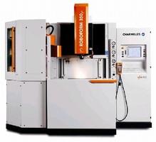 EDM Machine targets micro moldmaking applications.