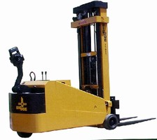 Walk Behind Forklifts feature electronic power steering.