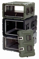 Rack Cases protect semi-rugged equipment.