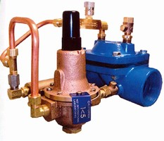 Pump Control Valve eliminates water hammer.