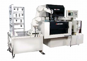 EDM Machine facilitates medical hardware production.