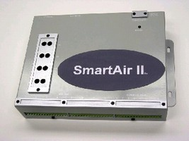 Air Compressor Controller is operated from web page.