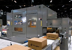 Case Palletizers offer speeds up to 30 cases/min.
