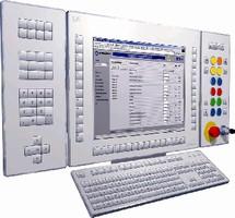 Operator Panel features modular, ergonomic design.
